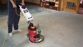 Steam Cleaning A Grey Carpet