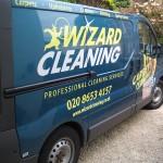 Wizard Cleaning Van_Side View