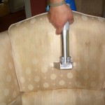 Steam Cleaning Dirty Sofa Upholstery