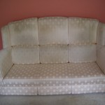Dirty and Stained Sofa Upholstery