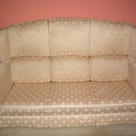 A Sofa After a Professional Upholstery Clean