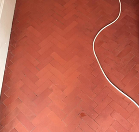 Hall Tile Cleaning After