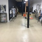 Shop Floor Cleaning Finish